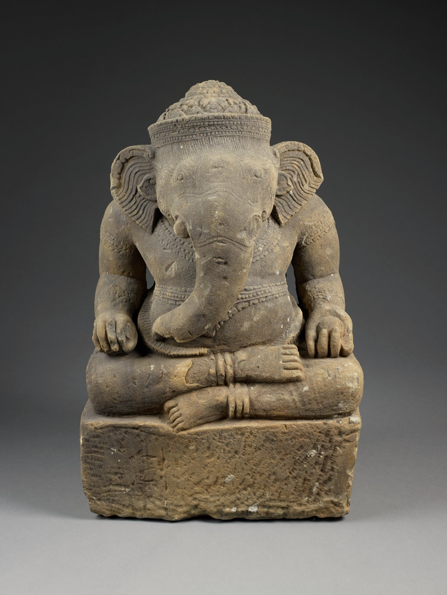 Mindful Meditations – Visualization Meditation on Ganesha Sculpture from Southeast Asia