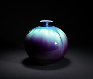 "Mindful Meditations – Color Meditation on ""Vase"" by Tokuda Yasokichi III"