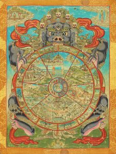 Puzzle Pieces – Tibetan Wheel of Existence